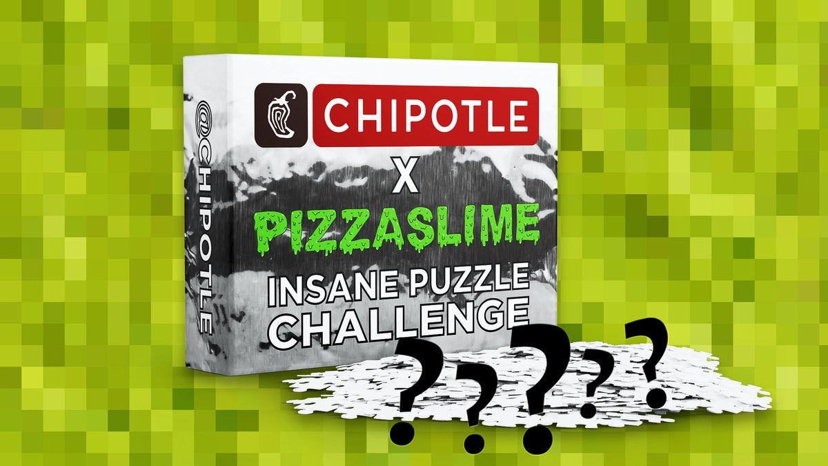 Chipotle x PizzaSlimes' Guacamole Puzzle Challenge Could Win You Free Burritos For A Year