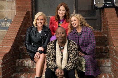 Jane Krakowski, Ellie Kemper, Tituss Burgess, Carol Kane in 'Unbreakable Kimmy Schmidt' Season 4