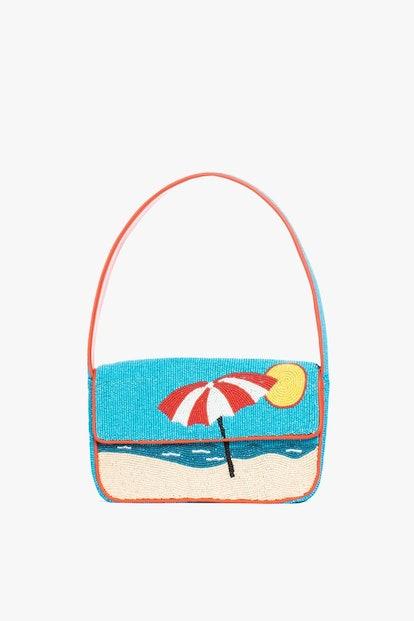 TOMMY BEADED BAG BEACH BLUE