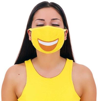 MojiGear Grin Face Pollution Filter Mask
