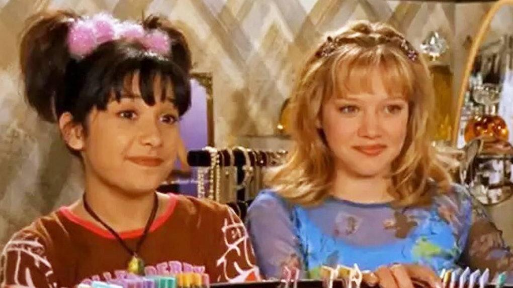 Lizzie and Miranda in 'Lizzie McGuire'