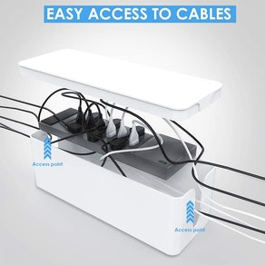 Yecaye Cable Organizer Box