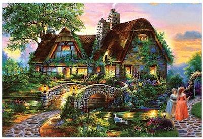 LODDD Fantasy Landscape Jigsaw Puzzle (234 Pieces)