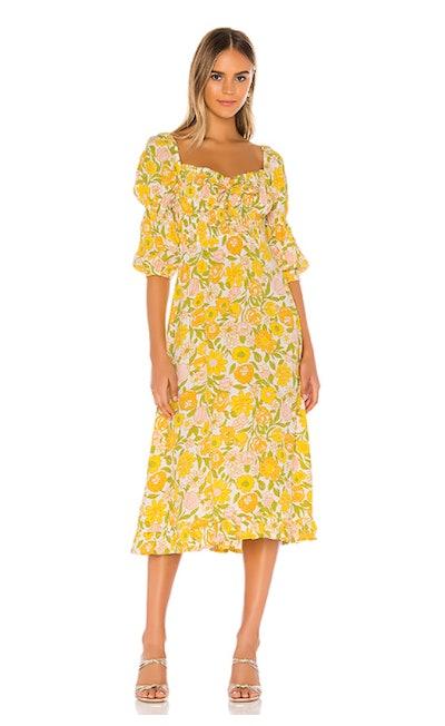 Nora Midi Dress