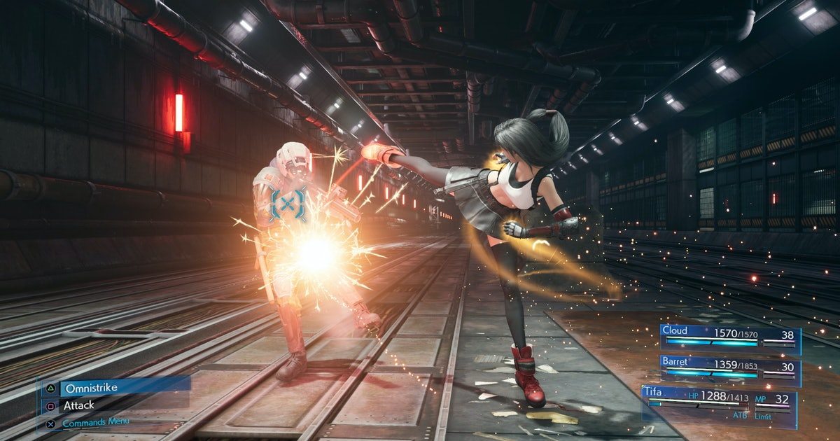 Ff7 Remake Best Tifa Build Weapons Materia Abilities For Melee Or Magic