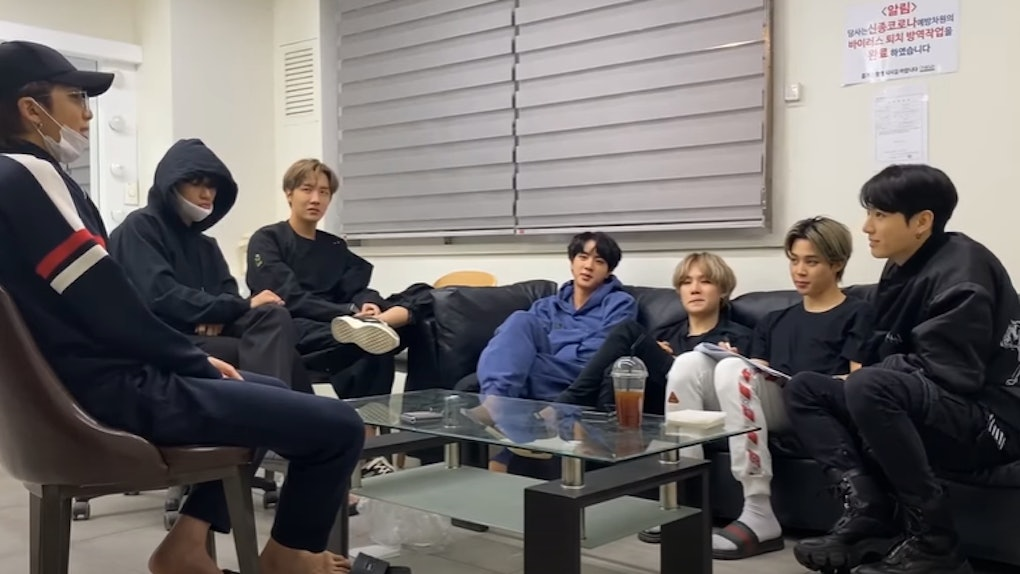 BTS' second 2020 album release date may be so soon.