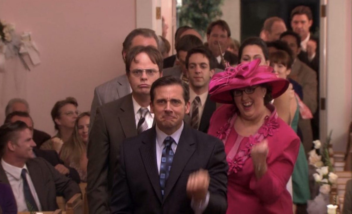 'The Office' cast recreated the Jim and Pam wedding dance on Zoom.