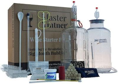 Master Vintner Wine Making Equipment Starter Kit