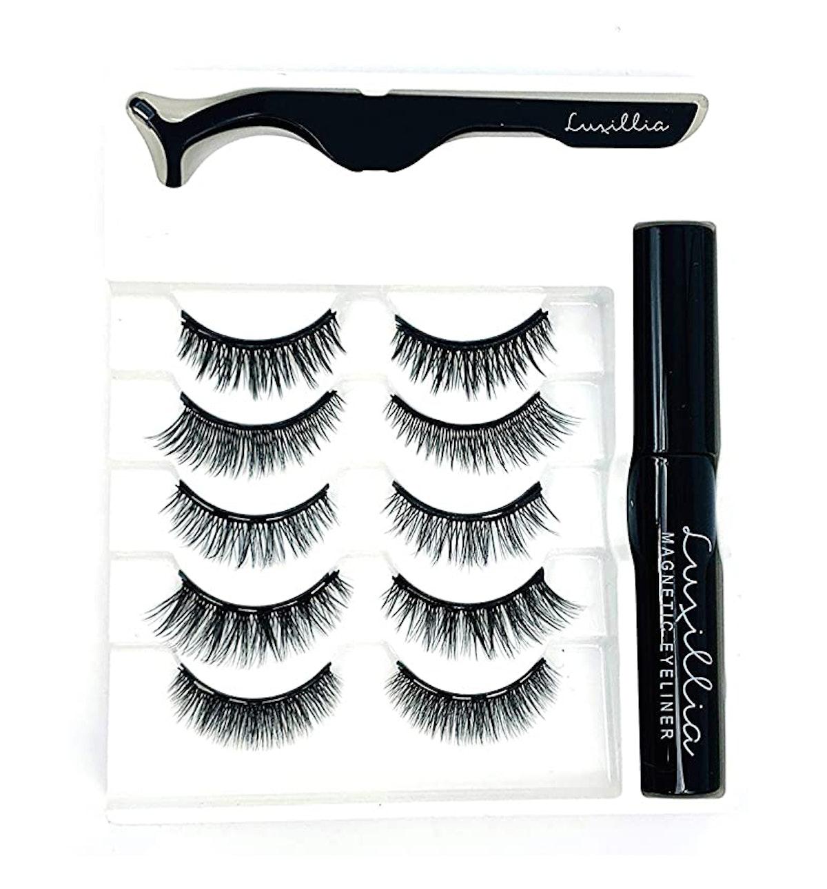 Luxilia Magnetic Eyelashes & Eyeliner Kit