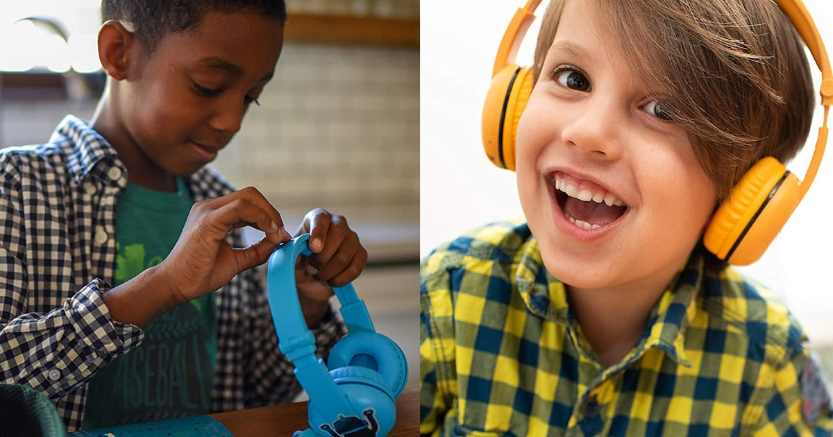 4 Comfy Headphones Sized Right For Kids — So Your Ears Can Finally Get A Break