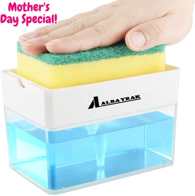 Albayrak Soap Dispenser and Sponge Holder
