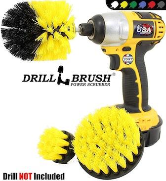 Drillbrush Power Scrubber (Set of 3 Brushes)