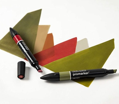 Winsor & Newton Landscape Markers (6-Set)