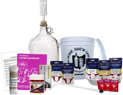 Midwest Homebrewing And Winemaking Supplies One-Gallon Wine Making Kit