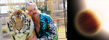 Joe Exotic is the super-hot exoplanet WASP-79b.