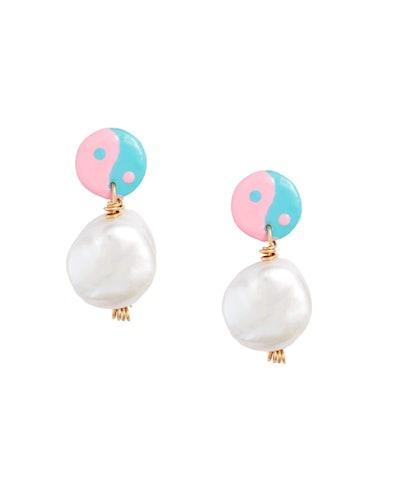 Trippy Yin Yang Earrings