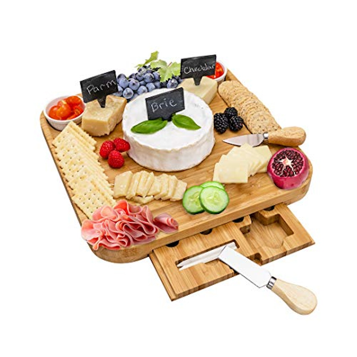 Lavastic Cheese Board and Knife Set