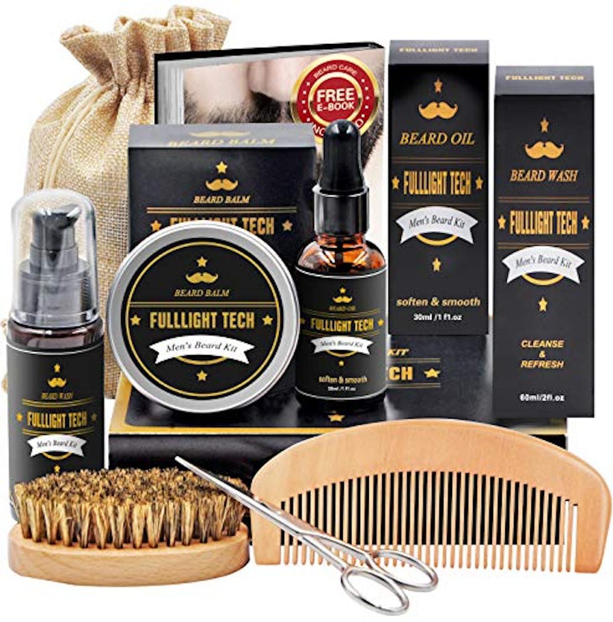 Fullight Tech Beard Kit for Men Grooming