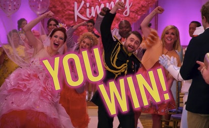 Kimmy and Frederick's wedding in 'Unbreakable Kimmy Schmidt: Kimmy vs. the Reverend'