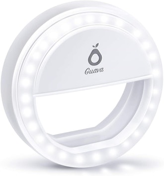 Guava Rechargeable Selfie Ring Light