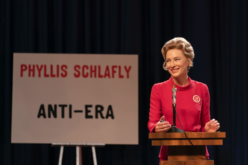 Cate Blanchett as Phyllis Schlafly in FX's Mrs. America.