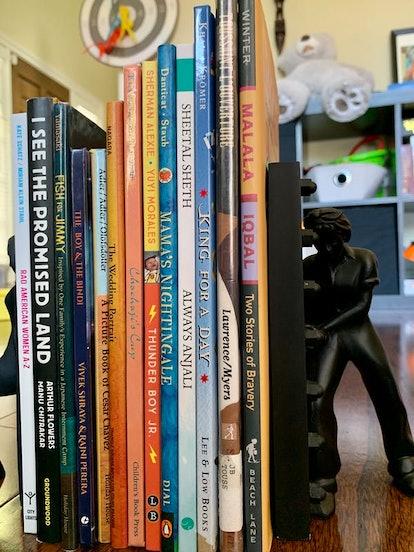 Sampling of books at the author's home. Monisha Bajaj, CC BY-ND