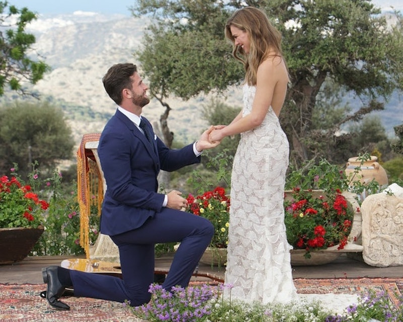 Hannah Brown reflects on Jed's Bachelorette proposal.