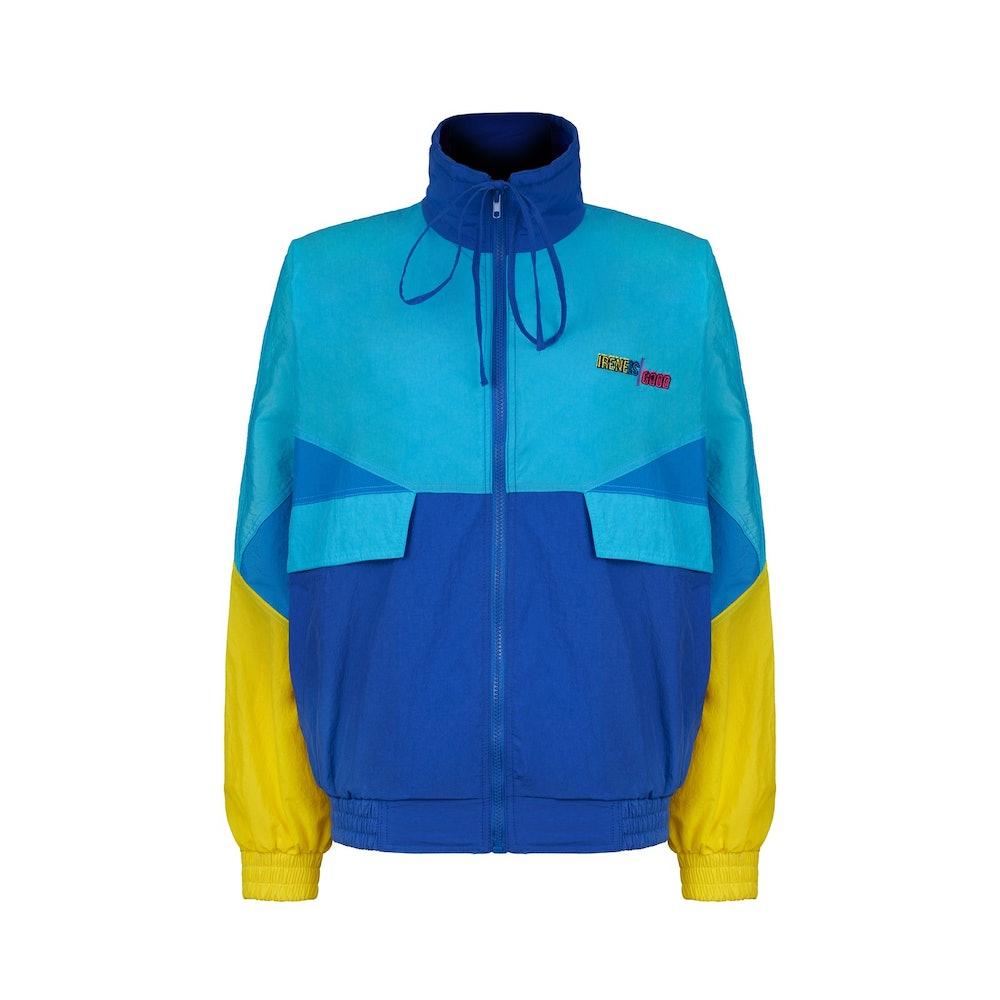 Blue Track Jacket