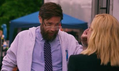 Zak Orth as the writer in 'Unbreakable Kimmy Schmidt: Kimmy vs. the Reverend'