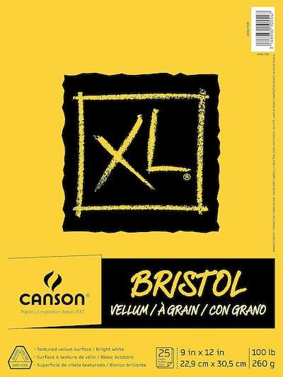 Canson XL Series Bristol Vellum Paper Pad