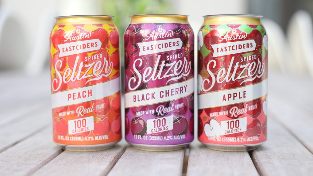 Austin Eastciders' new spiked seltzers include three different flavors.