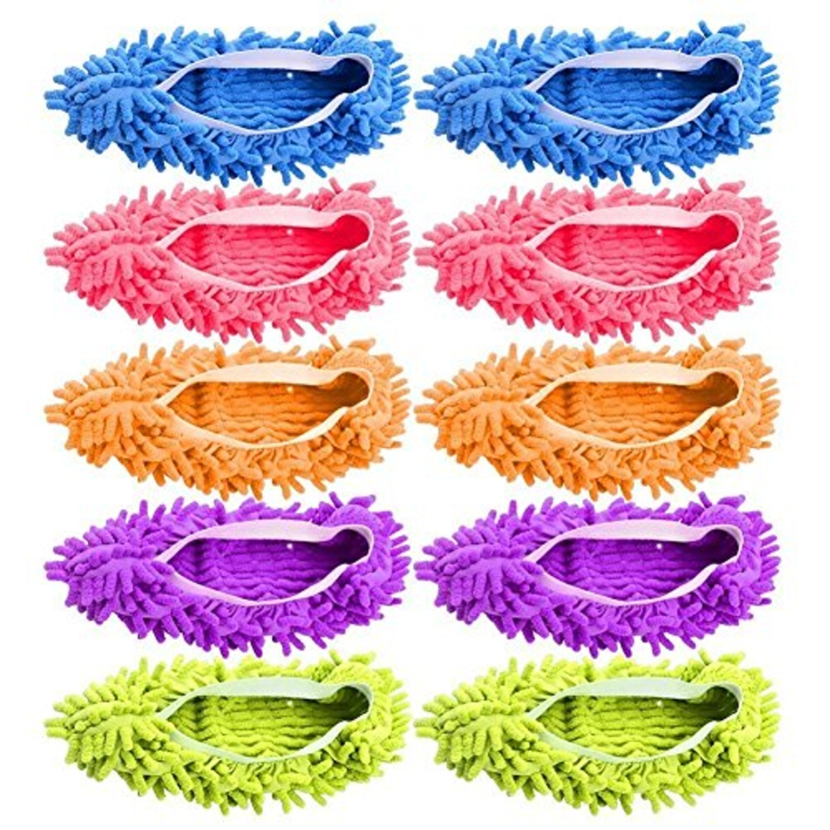 AIFUSI Mop Slippers Shoes Cover