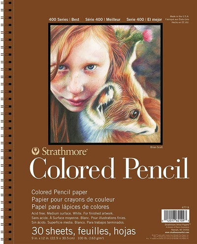 Strathmore 400 Series Colored Pencil Pad