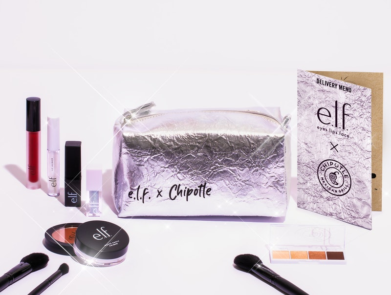 e.l.f. x Chipotle kit launches May. 14.