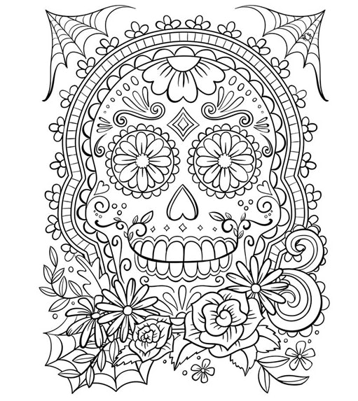 - 15 Free Printable Coloring Pages For Adults To Calm Your Rattled Nerves