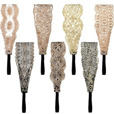 Gejoy Lace Headbands (7 Pieces)