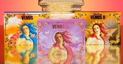 Review for Lime Crime's Venus Eyeshadow Palette.