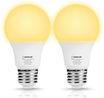 LOHAS LED Sleep Aid Night Light Bulbs (2-Pack)