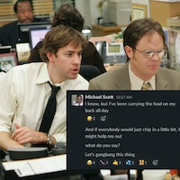 I'm obsessed with 'The Office' on Slack — and it might be the future of TV