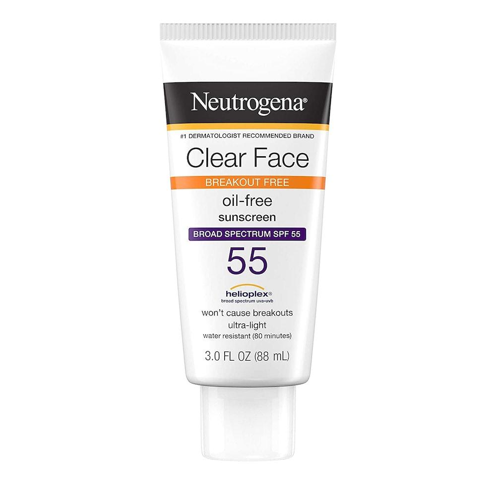 Neutrogena Clear Face Sunscreen SPF 55