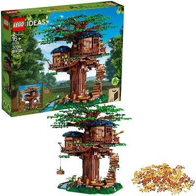 LEGO Ideas 21318 Tree House Building Kit
