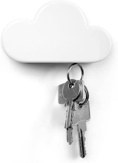 TWONE Magnetic Cloud Key Holder