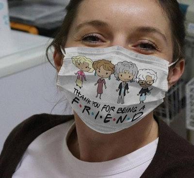 Golden Girls Face Mask