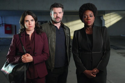 Laurel, Frank, and Annalise on 'HTGAWM.'