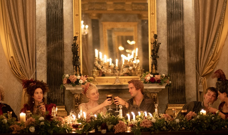 Peter III (Nicholas Hoult) and Catherine (Elle Fanning) in 'The Great'