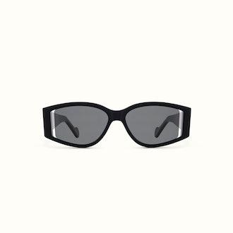 Coded Sunglasses Jet Black