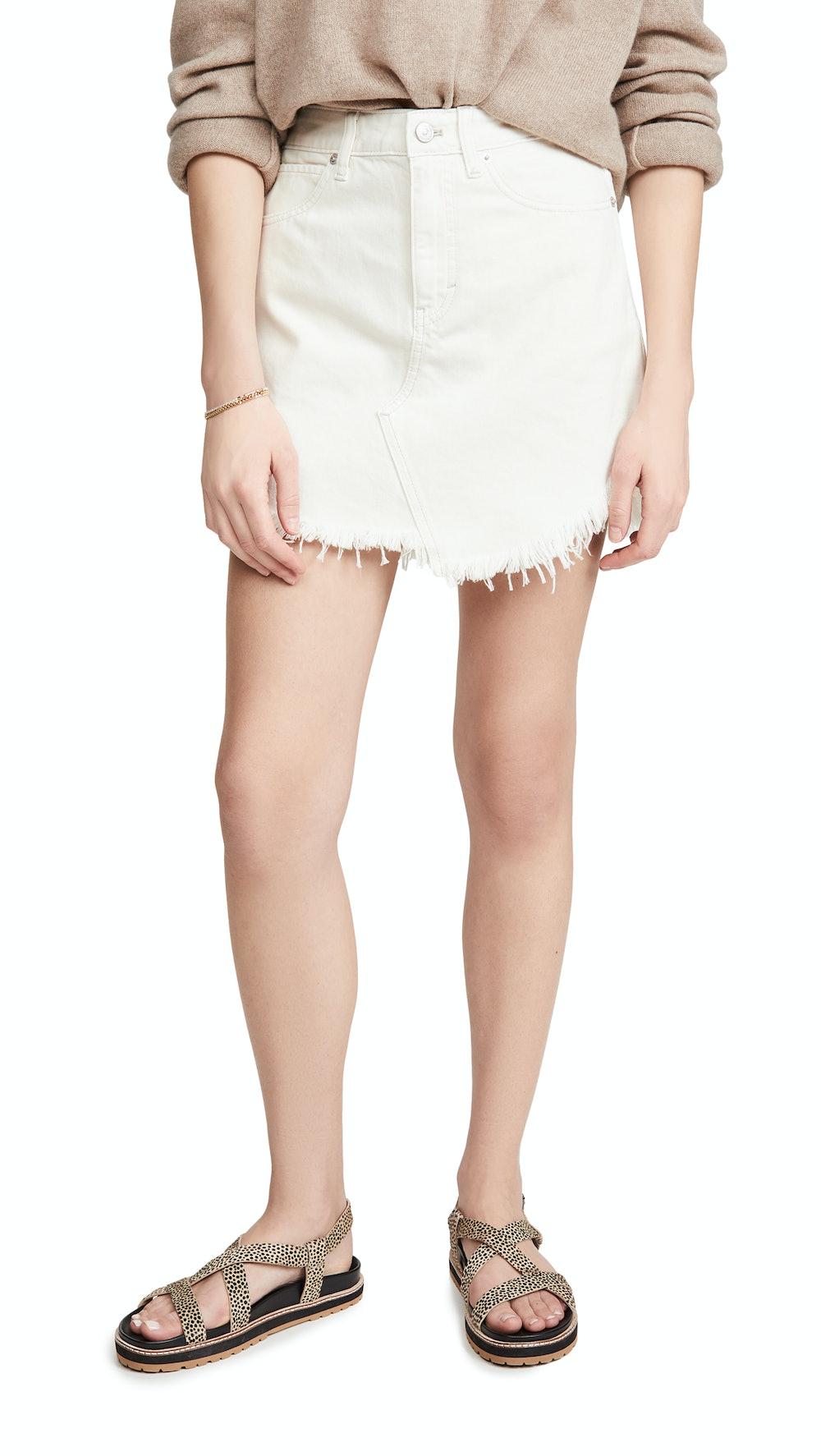 Bailey Denim Miniskirt