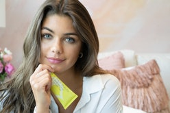 Juice Beauty's new Prebiotix Instant Flash Facial with campaign model Hannah Ann Sluss.