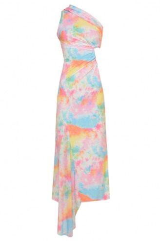 Tie Dye Cut Out Dress