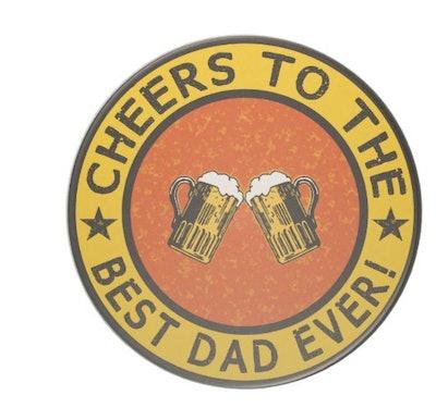 Best Dad Ever Custom Coaster